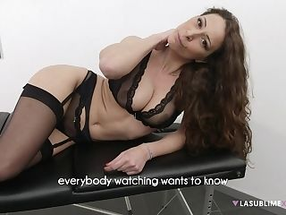 Fledgling Dude Delectations Charming Matures Martina Gold On The Table
