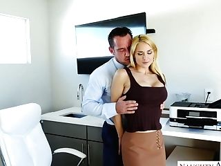 Sniggering Crazy Blonde Cowgirl With Big Titties Sarah Vandella...