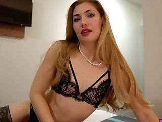 Adorable Seductress In Sexy Underwear Stephanie Carter Performs Hot...