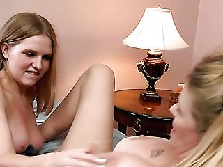 Wild Fingerfuck Performed By Big-chested Sapphic Laci Laine Is Must...