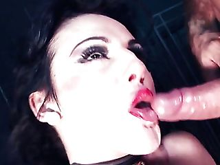 Wild Orgy With Horny English Bitch Havana Sins Railing Fat Hard-ons...