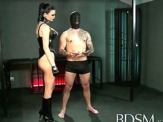 Domination & Submission Xxx Horny Mistress Using Her Tied Up...
