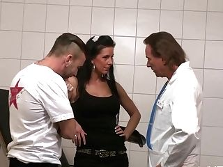 Buxom German Matures Visits Physician Stiffy