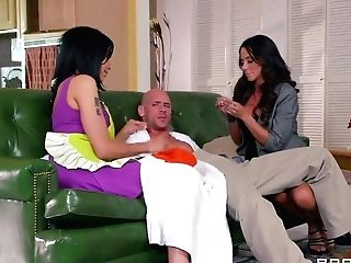 Landscaper Johnny Sins Is Fucked By His Customers Shay Glances And...